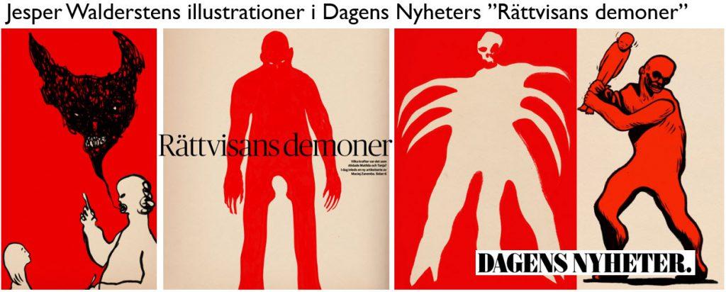 Illustrationer - Jesper Walderstens